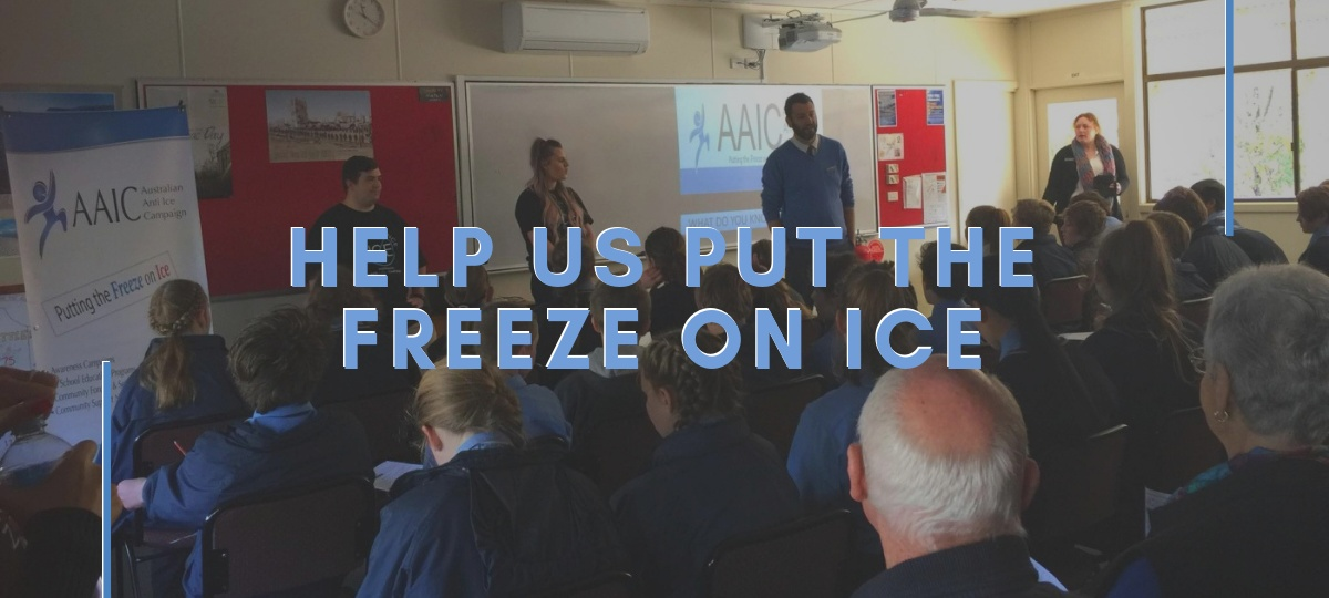 Help us Put the Freeze on Ice: Photo of an AAIC School Workshop in progress.