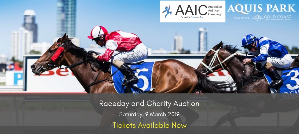 Raceday and Charity Auction tickets available now
